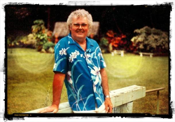 Daddy in Hawaii, mid-eighties.