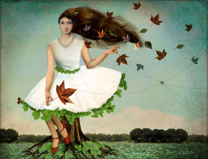 """It is all connected,"" Art by Catrin Welz-Stein"