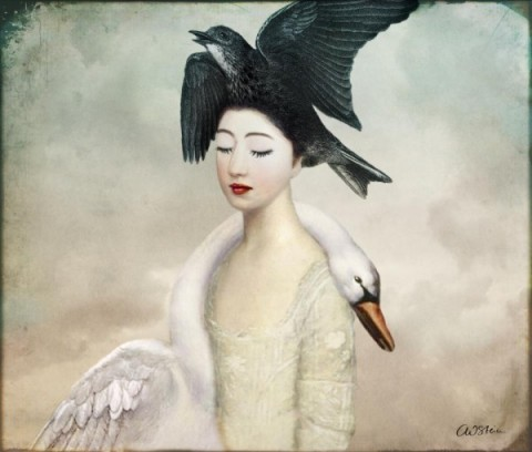 Heaven and Earth by Catrin Welz-Stein via RedBubble