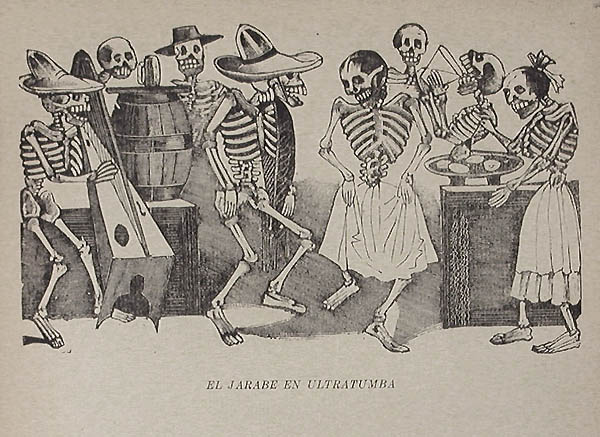 Jose Guadalupe Posada - El Jarabe en Ultratumba (The Folk Dance Beyond the Grave)
