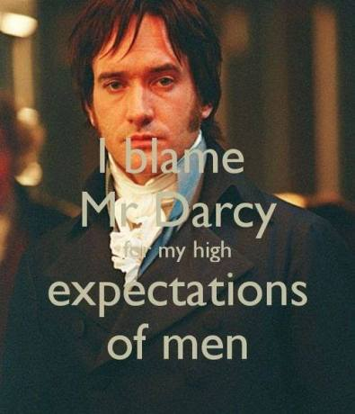 Pride & Prejudice via Pinterest