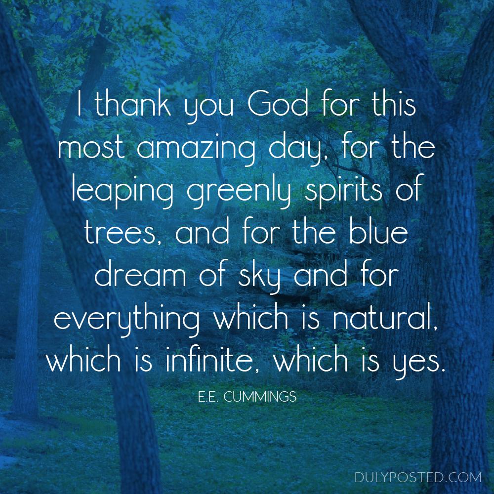 A Gratitude Prayer