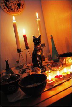 kitty altar