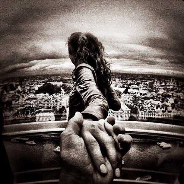 Follow me, Murad Osmann via Pinterest